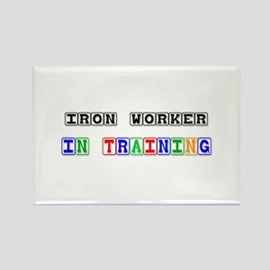 Iron Worker In Training Rectangle Magnet