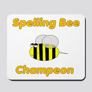 Spelling Bee Champion Mousepad