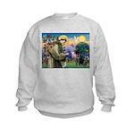 Saint Francis & Black Lab Kids Sweatshirt