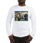 Saint Francis & Black Lab Long Sleeve T-Shirt