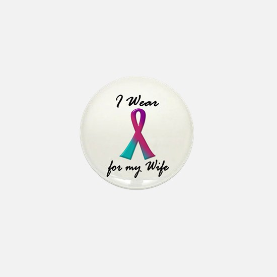 Thyroid Ribbon 1 (Wife) Mini Button