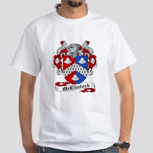 McClintock Family Crest White T-Shirt