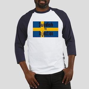 Swedish by Injection Baseball Jersey