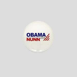 Obama Nunn 2008 Mini Button