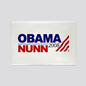 Obama Nunn 2008 Rectangle Magnet