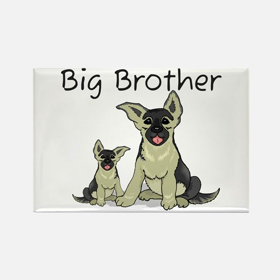 Dogs GS Big Brother Rectangle Magnet