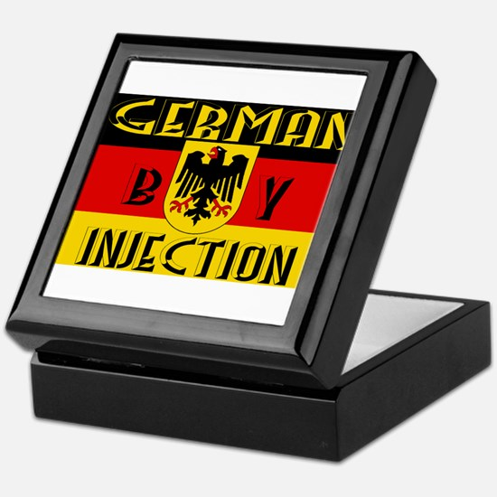 German by Injection Keepsake Box