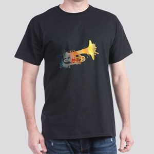 Paint Splat Mellophone Dark T-Shirt