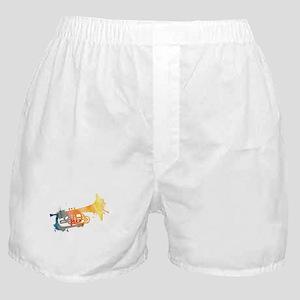 Paint Splat Mellophone Boxer Shorts