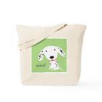 Dalmatian Woof Tote Bag