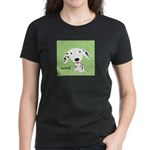 Dalmatian Woof Women's Dark T-Shirt