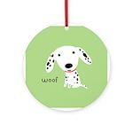 Dalmatian Woof Ornament/Keepsake