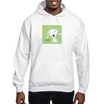 Dalmatian Woof Hooded Sweatshirt