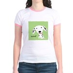 Dalmatian Woof Jr. Ringer T-Shirt