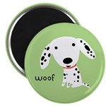 Dalmatian Woof Magnet