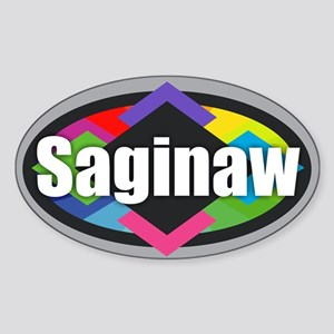 Saginaw Design Sticker