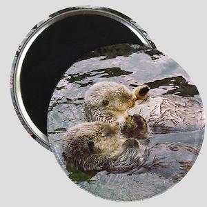 Sea Otter Love Magnet