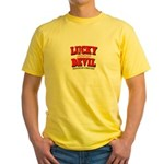 Lucky Devil Yellow T-Shirt