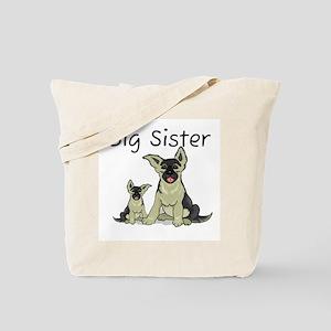 Dogs GS Big Sister Tote Bag