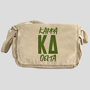Kappa Delta Letters Messenger Bag