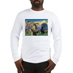 St. Fran/ Flat Coated Ret Long Sleeve T-Shirt