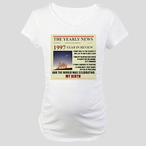 born in 1997 birthday gift Maternity T-Shirt
