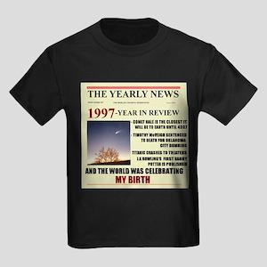 born in 1997 birthday gift Kids Dark T-Shirt