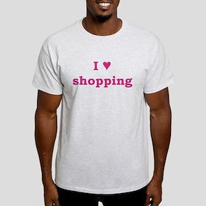 I Heart Shopping Light T-Shirt