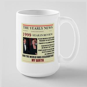 born in 1999 birthday gift Large Mug