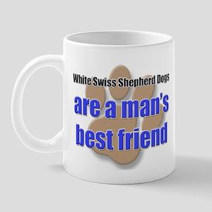 White Swiss Shepherd Dogs man's best friend Mug