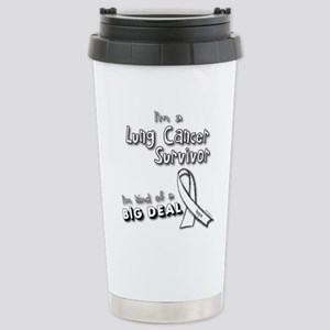 Lung Cancer Survivors ARE a big deal! Large Mugs
