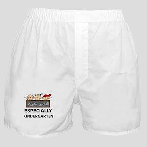 Kindergarten is Cool Boxer Shorts