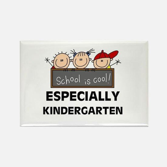 Kindergarten is Cool Rectangle Magnet