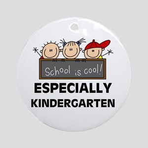 Kindergarten is Cool Ornament (Round)