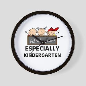 Kindergarten is Cool Wall Clock