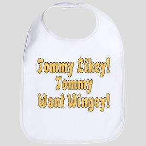 Tommy Likey Baby Bib