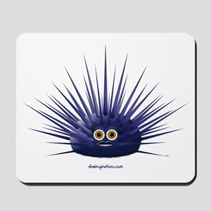 Purple Sea Urchin Mousepad
