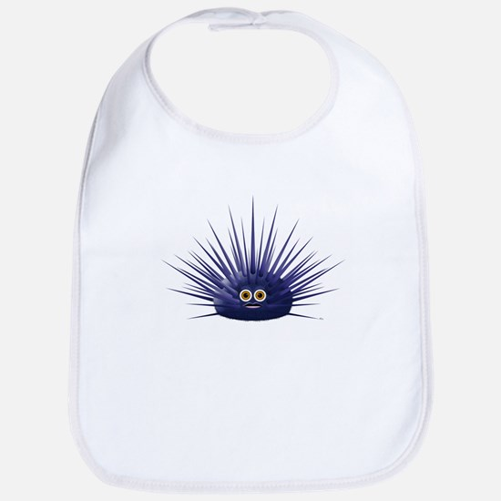 Purple Sea Urchin Bib