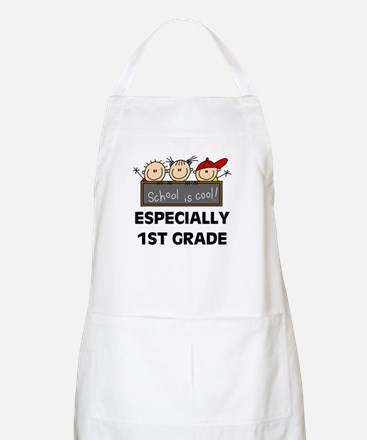 1st Grade is Cool BBQ Apron