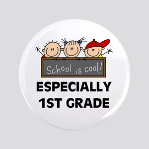 """1st Grade is Cool 3.5"""" Button"""