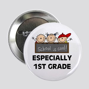 """1st Grade is Cool 2.25"""" Button"""