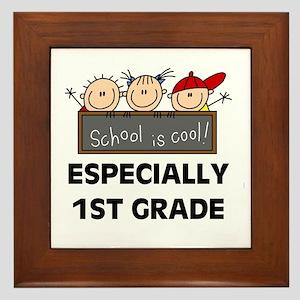 1st Grade is Cool Framed Tile