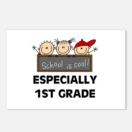 1st Grade is Cool Postcards (Package of 8)
