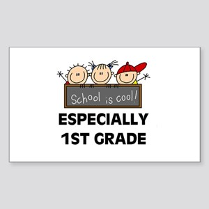 1st Grade is Cool Rectangle Sticker