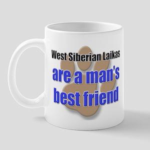 West Siberian Laikas man's best friend Mug
