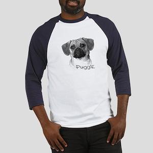 Perfect Puggle Portrait Baseball Jersey