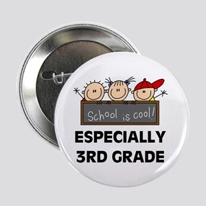 """3rd Grade is Cool 2.25"""" Button"""