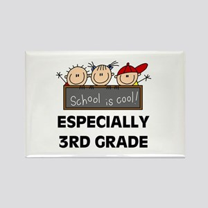 3rd Grade is Cool Rectangle Magnet