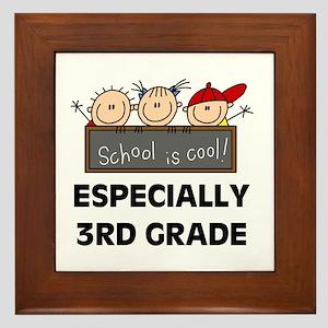3rd Grade is Cool Framed Tile