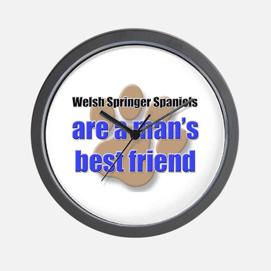 Welsh Springer Spaniels man's best friend Wall Clo